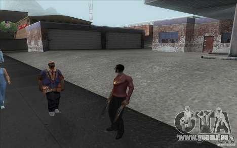 Pimp pour GTA San Andreas deuxième écran