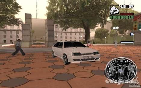 VAZ 2109 leichte Tuning für GTA San Andreas