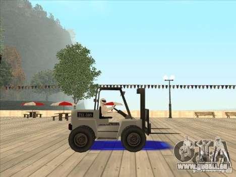 Forklift extreem v2 für GTA San Andreas