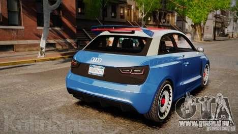 Audi A1 Quattro für GTA 4 hinten links Ansicht
