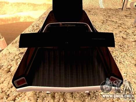 Plymoth Road Runner für GTA San Andreas zurück linke Ansicht