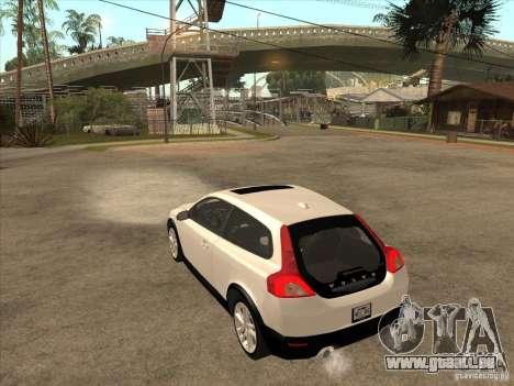Volvo C30 für GTA San Andreas rechten Ansicht