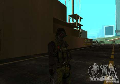 Peau de Battlefield 3 pour GTA San Andreas troisième écran