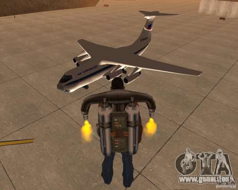 L'IL-76 pour GTA San Andreas