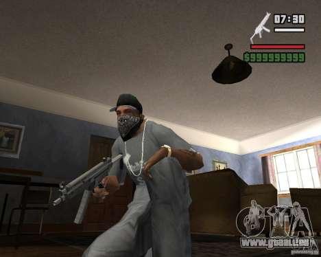 Mp5HD pour GTA San Andreas deuxième écran