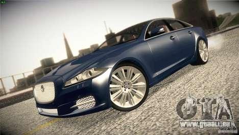 Jaguar XJ 2010 V1.0 pour GTA San Andreas vue intérieure
