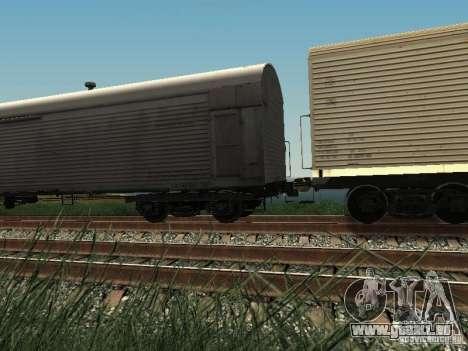 Wagon isotherme HST pour GTA San Andreas laissé vue