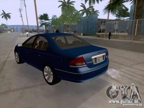 Ford Falcon Fairmont Ghia pour GTA San Andreas vue de droite