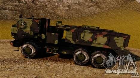 M142 HIMARS für GTA 4 linke Ansicht