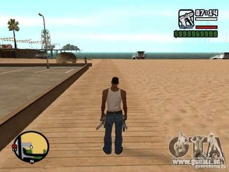 Changement du radar de zoom pour GTA San Andreas deuxième écran
