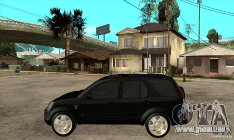 Honda CRV (MK2) pour GTA San Andreas laissé vue