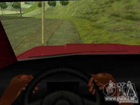 Picador pour GTA San Andreas vue arrière