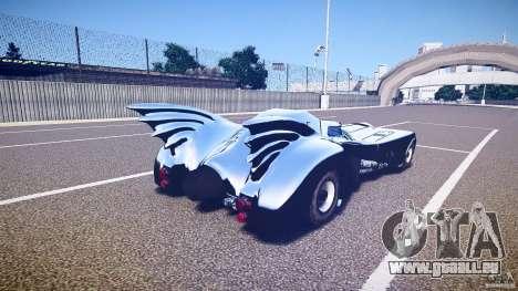 Batmobile v1.0 für GTA 4 obere Ansicht
