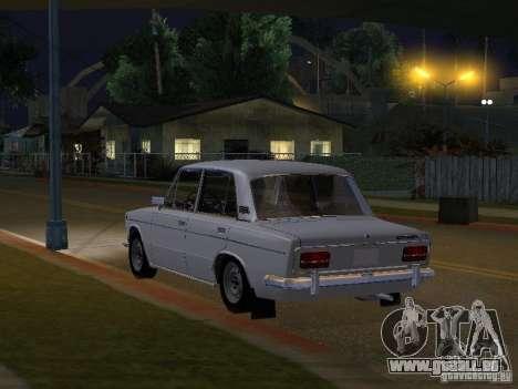VAZ 2103 niedrige Classic für GTA San Andreas zurück linke Ansicht