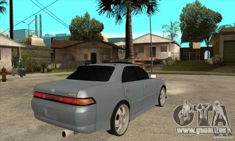 TOYOTA MARK II GT pour GTA San Andreas vue de droite