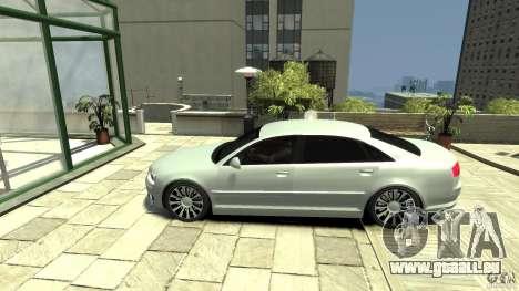 Audi A8 4.2 QUATTRO beta für GTA 4 linke Ansicht