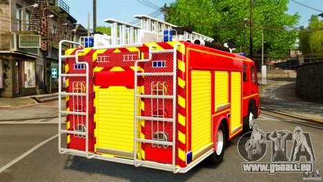 Mercedes-Benz Atego FPTGP Sapeurs Pompiers ELS pour GTA 4 Vue arrière de la gauche