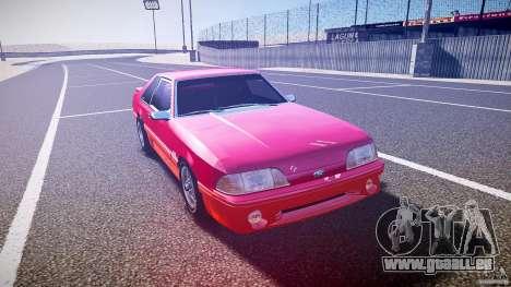 Ford Mustang GT 1993 Rims 2 pour GTA 4 Vue arrière