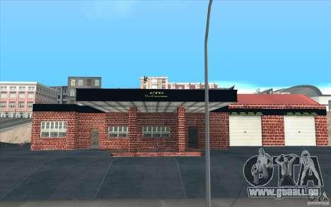 Neue Garage in Dorothy für GTA San Andreas dritten Screenshot