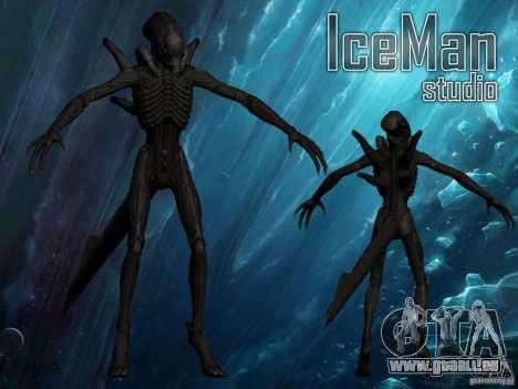 Alien Xenomorph pour GTA San Andreas