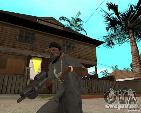 Shotgun in style revolver für GTA San Andreas dritten Screenshot