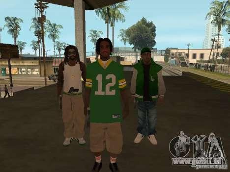 Nouveaux skins Grove pour GTA San Andreas