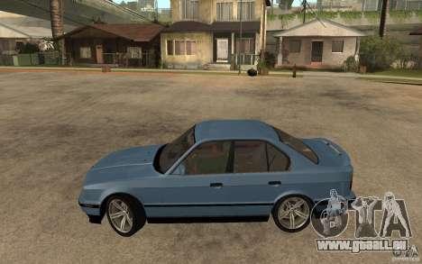 BMW E34 535i 1994 pour GTA San Andreas laissé vue