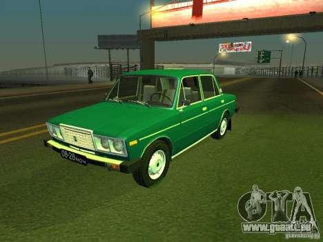 VAZ 2106-siebten Stock für GTA San Andreas