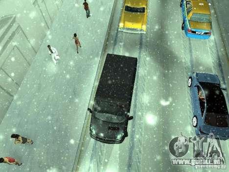 Vauxhall Vivaro v0.1 pour GTA San Andreas vue intérieure