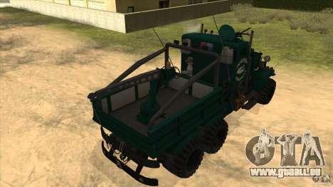 KrAZ 255 B1 Krazy-Crocodile pour GTA San Andreas vue arrière