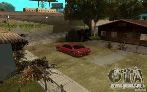 Voitures de sport près de la rue Grove pour GTA San Andreas deuxième écran