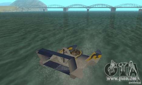Hydrofoam pour GTA San Andreas laissé vue