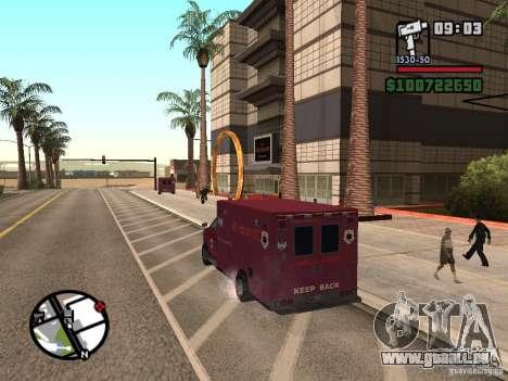 Ambulance de GTA IV pour GTA San Andreas laissé vue