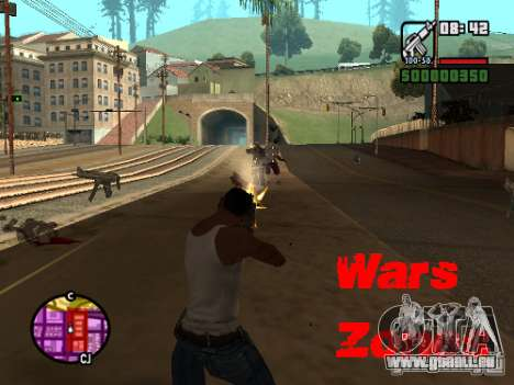 Wars Zones pour GTA San Andreas