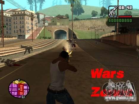 Wars Zones pour GTA San Andreas