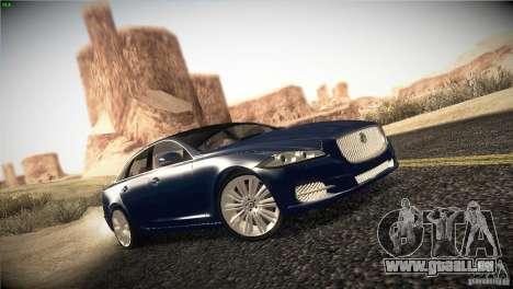 Jaguar XJ 2010 V1.0 pour GTA San Andreas vue de droite