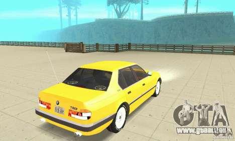 BMW 750I E32 für GTA San Andreas linke Ansicht