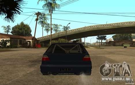 Volkswagen Golf GTI 2 Tuning pour GTA San Andreas sur la vue arrière gauche
