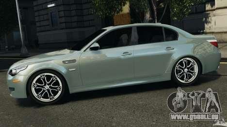 BMW M5 E60 2009 v2.0 pour GTA 4 est une gauche