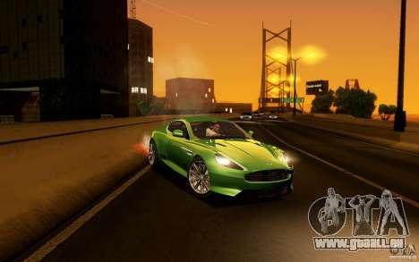 Aston Martin Virage V1.0 für GTA San Andreas Seitenansicht