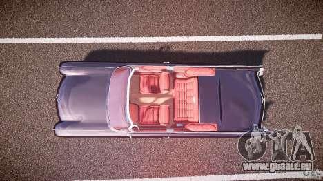 Cadillac Eldorado 1959 interior red pour GTA 4 Vue arrière