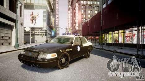 Ford Crown Victoria Fl Highway Patrol Units ELS für GTA 4