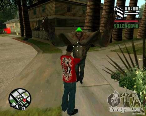 Réservoir de la Left 4 Dead. pour GTA San Andreas