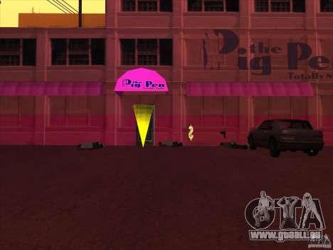 PigPen pour GTA San Andreas deuxième écran