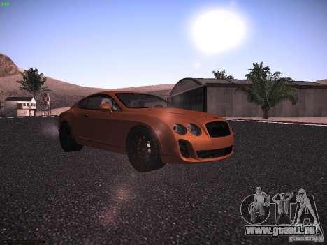 Bentley Continetal SS Dubai Gold Edition für GTA San Andreas linke Ansicht