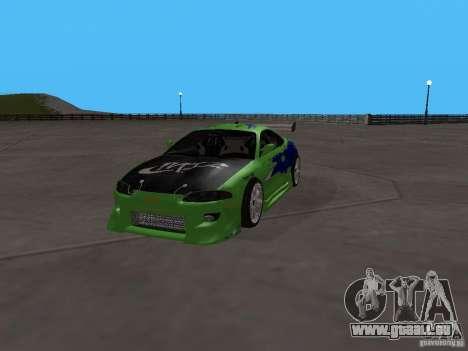 Mitsubishi Eclipse Tunable pour GTA San Andreas vue arrière