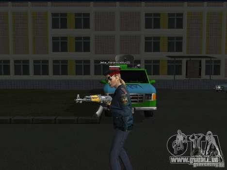 Skins der Miliz für GTA San Andreas dritten Screenshot