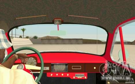 Moskvich 407 pour GTA San Andreas vue de droite