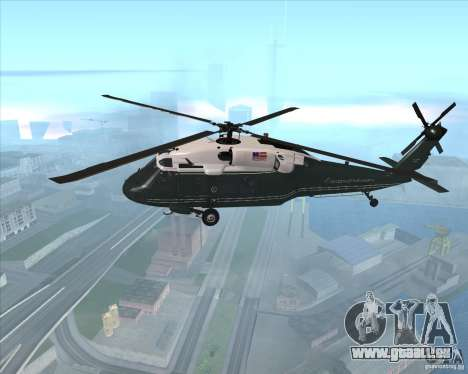 Sikorsky VH-60N Whitehawk pour GTA San Andreas