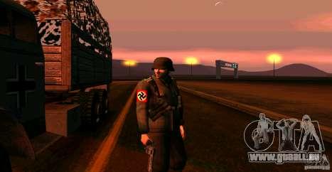 Soldats de la Wehrmacht pour GTA San Andreas